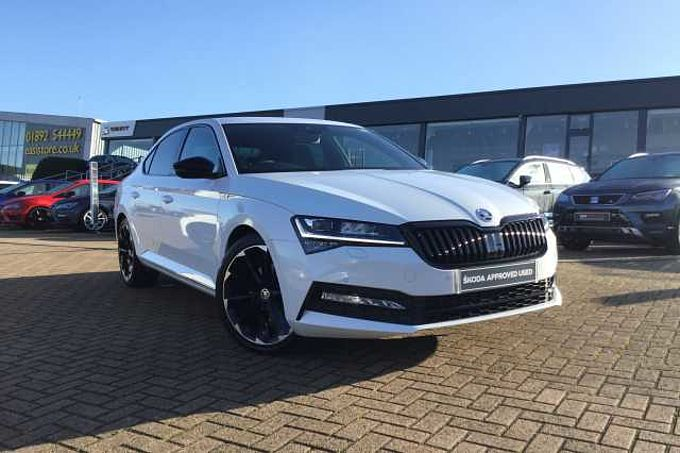 SKODA Superb 1.5 TSI 150ps SportLine Plus ACT DSG Hatch